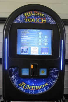 "THE MUSIC TOUCH ""WALL BOX""."